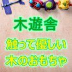 木遊舎って知ってる?子供に遊んでほしい自然いっぱい優しいおもちゃ