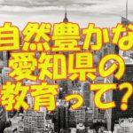 子育てしやすい?愛知県の教育とは?キャンプ場が多く自然豊かな街